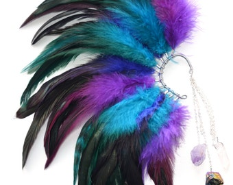 Feather Ear Cuff - Magic