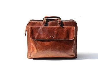 ITALIAN Brown Leather Bag