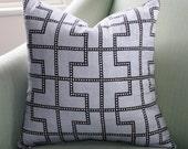 Schumacher Bleecker Cushion Cover 20 Inch