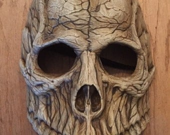 Skull Mask Bauta Style - Bone
