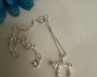 Sale- Amazing Men's Women's Sterling (925) Chai Life Pendant & Italian Sterling 925 Box Chain Necklace- Birthday Gift Him Her. Judaic Hebrew