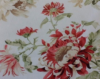 Nina Campbell Pomander cotton print fabric by the metre