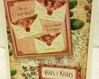 A Time to Flourish-Graphic 45 Valentine Card
