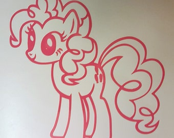 Pinkie Pie Decal