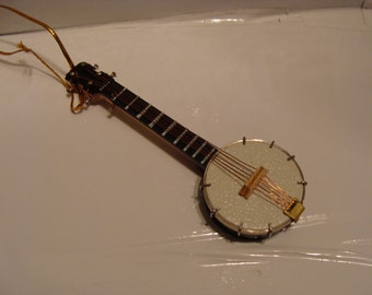 Banjo Orn or Magnet, Musical Instrument, 4 Inches, No Sound