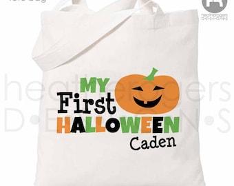 Halloween Trick or Treat Bag - 1st Halloween Trick or Treat Bag - First Halloween Bag