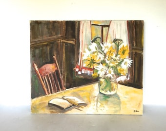 Vintage painting - Still life
