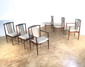 Six DUX Rosewood Dining Chairs FREE SHIPPING Sylve Stenquist Mid Century Danish Modern Chair