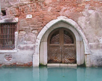 Venice Photograph, Travel Photography, Italy Picture, Office Art, Italian Art, Romantic Art, Gothic Arch, Large Wall Art, Photo of Rust
