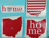 State of Ohio decals (choose your option) The ones pictured are ready to ship!!!