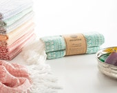 Anatolian Peshtemal Teal Blue Turkish Towel for Bath & Beach Gift for her