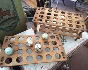 Stacking Wood Egg Racks