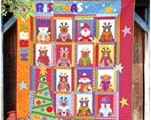 Christmas at Santa's - PDF Christmas Quilt Pattern