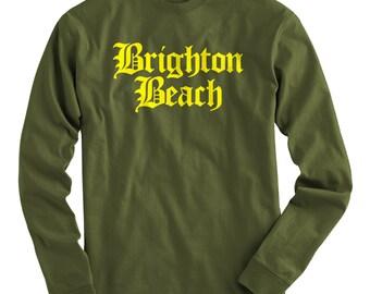 Brighton beach etsy for Brighton t shirt printing