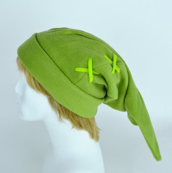 Link Beanie - Legend of Zelda - Link hat - Neon strings - Wicked Link - Halloween Costumes