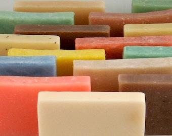 Soap, 8 Bar Soap Special, Your Choice, Olive Oil Soap, Bar Soap, Bath Soap, Handmade Soap, Cold Process Soap, Hot Process Soap