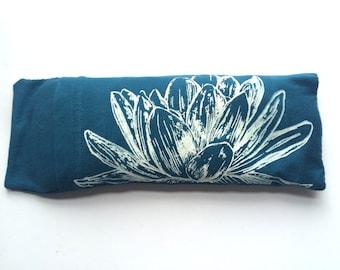 Eye pillow / Organic Cotton / Yoga tool, perfect for Savasana