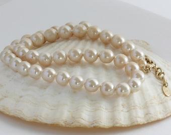 Erwin Pearl Necklace // Vintage Estate Jewelry // fruitsdesbois