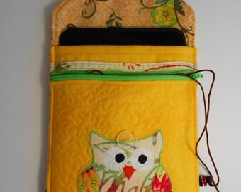 Ipad Mini Cover, Kindle Case, Tablet, Reader, Kindle Cover, Kindle Fire Cover, Zippered Pocket
