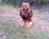 Chainsaw Carving Chainsaw Carved Owl