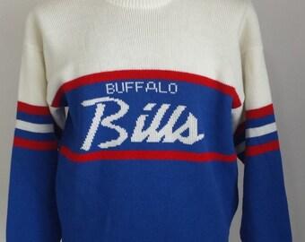 Buffalo Bills Vintage Cliff Engle Sweater LARGE
