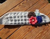 the A Touch of Pink headband earwarmer