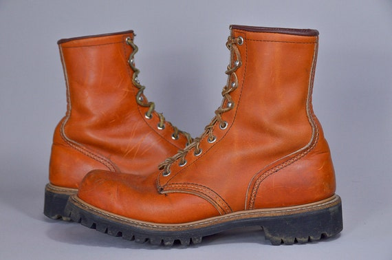 Vintage Red Wing Irish Setter Sport Boot Hiking Work Boots