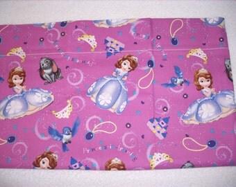 Princess Sophia travel pillowcase