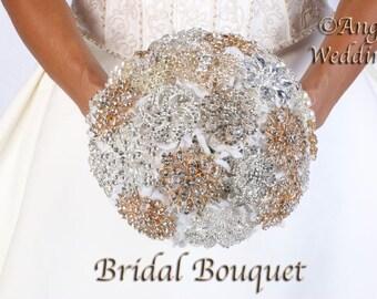 Love BROOCH BOUQUET Bridal Groom Bridesmaids Wedding Bouquets Bouquet Silk Flowers Arrangement Custom Corsage Boutonnieres Keepsake