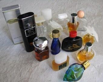 15 Mini Perfumes and Bottles  Miniature Perfumes