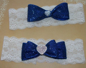 Wedding ,Something Blue,Something Blue Garter,Rhinestone Garter,Bridal Garter Set,Bridal Accessories,Bridal,Lace Garter,Blue Garter