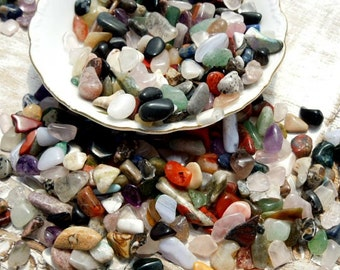 Mixed Tumbled Healing Stones / Small Polished Stones