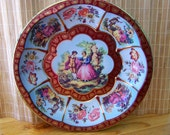 """Vintage 70's  """"DAHER TiN TRAY"""" Decorated Ware Made in England"""