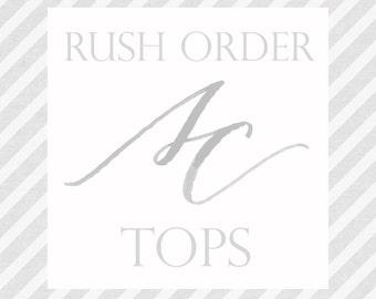 Add On - Rush Order - Wedding Tops - Lace Tops - Long Sleeve Lace Top - Wedding Separates - Wedding Dress - Lace Wedding Dress