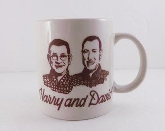 Harry and David / Mug Cup VERY RARE! PHOTOGRAPHS
