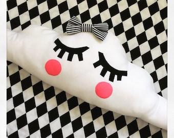 Miss Fluffy Cloud Pillow