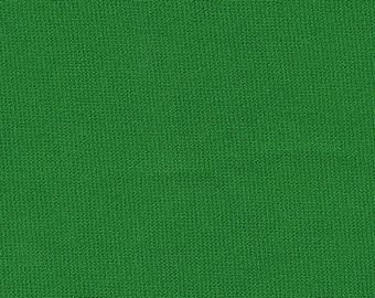 """60"""" Wide Kelly Green Ponte de Roma Double Knit by the yard"""