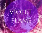 Violet Flame Guided Meditation & Creative Visualization