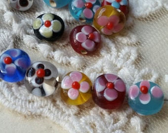 5mm Round Shape Glass Bead of Assorted Colors (.ta)