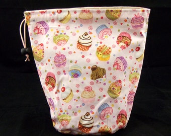 R Project bag 56 cute cupcakes