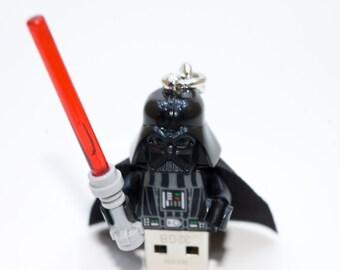 128GB Darth Vader USB Flash Drive with Keychain