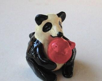Panda Ocarina & Ball Whistle
