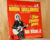 Hank Williams, Jr. - Your Cheatin' Heart Soundtrack - MGM SE 4260 - Vintage 33 1/3 LP Record - 1964