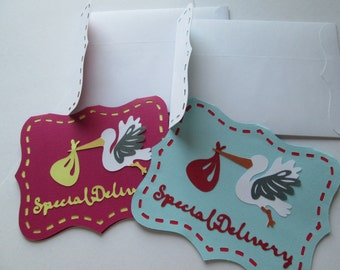 Special Delivery Custom Card w/ envelope
