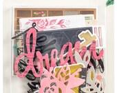 Crate Paper Maggie Holmes Shine Die Cut Ephemera Pack -- MSRP 5.00