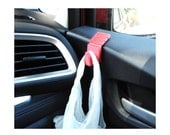 Car Trash Bag Hook - With mounting tape - 3D Print - 10 Colors Available