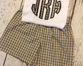 Saints monogram Set  for boys