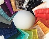 You + Me 2 Fat Quarter Bundle, Indah Batiks by Hoffman Fabrics, COMPLETE