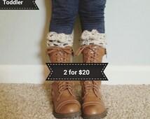Girl/Toddler Boot Cuffs BOGO, sale,boot cuffs, girls fashion,boho accessories, Leg warmers,crochet boot cuffs,winter accessories