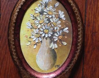 Italy Daisy Painting